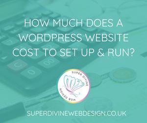 how to set up a wordpress website