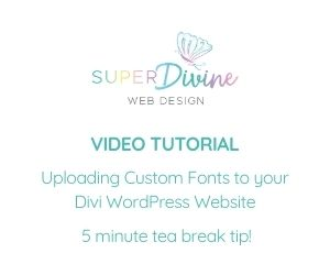 Uploading Custom Fonts to your Divi Website