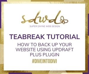 How to back-up your website